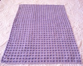 RESERVED for  A ON SALE  Chenille Fabrics Raspberry and Periwinkle
