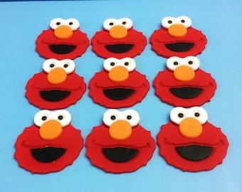 Elmo Cake Topper Uk