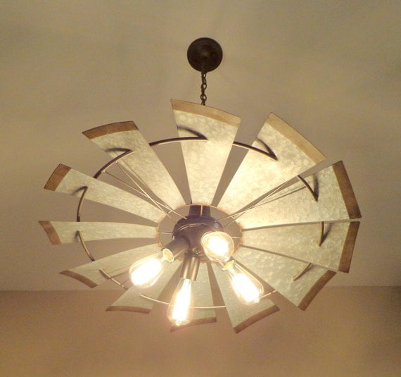Windmill Chandelier Lighting Original Farmhouse Exclusive By