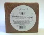 Frankincense & Myrrh  - Rustic Handcrafted CP Soap