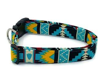 Four WInds Windrunner Tribal Arrowhead Dog Collar