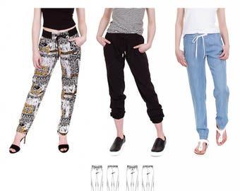Jalie 3676 Vanessa Casual Drawstring Pants Womens Sportswear Sewing Pattern