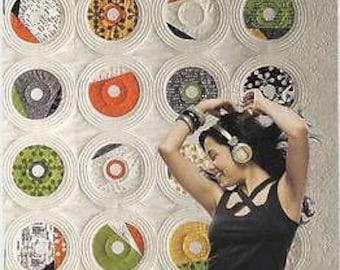 Dance With Me Records Contemporary Zen Chic Brigitte Heitland Quilt Pattern