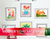Mothers Day Sale - Kids Art Display Frames - Photo Frames - Wall Stickers - Peel and Stick