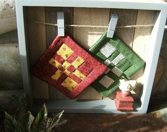 Down In The Country Framed Quilts (Item #125)
