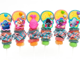 Trolls themed Candy Kabobs - 40