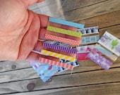 Washi Sample Cards