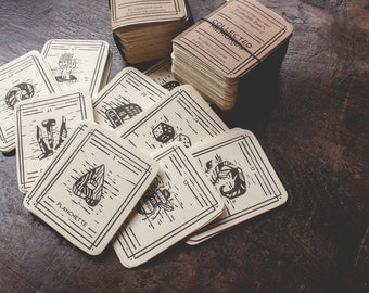 Collected Memories Divination Deck - 80 cards and guide