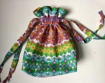 Reusable Gift Bag Cotton Drawstring Produce Bag Pouch
