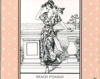 Beach Pyjamas Folkwear Pattern #252