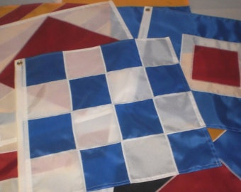 Individual Signal Flags 12x12 INCH