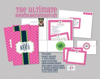 Ultimate Sorority Recruitment Recommendation Kit - The Orginal Sorority Rush Package