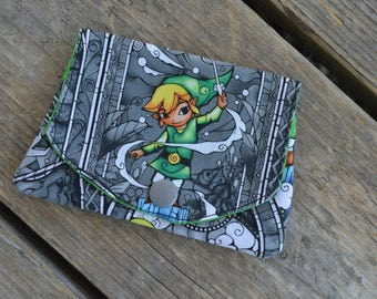 Legends of Zelda / Link / Nintendo grab-n-go credit card wallet