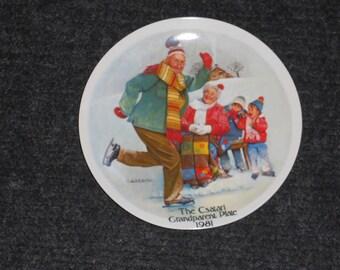 Vintage The Csatari Grandparent Plate-1981-Knowles