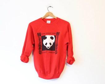 Vintage San Diego Zoo Panda Bear Sweatshirt