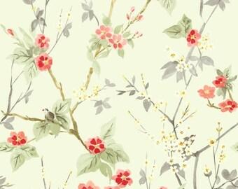 DDO80005 Oriental Animal Floral Wallpaper