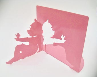 Disney Miss Piggy Michael Graves / Moller Designs Pink Silhouette Bookends Kermit Collection