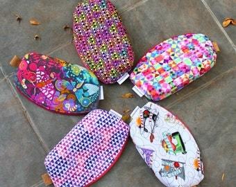 Design Your Own Custom Made Petal Pouch | project bag | makeup bag | cosmetics bag | zipper pouch