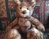 "Custom order for Dev ... An heirloom mink ""floppy"" teddy bear"