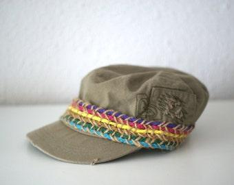 Ladies Military Cadet Style Cap.
