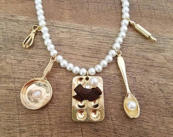 Pearl Chef Necklace
