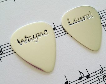 Keepsake, Silver Guitar Pick