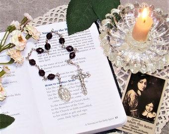 Unbreakable Catholic Chaplet of St. Elizabeth Ann Seton - Patron Saint of Widows and Against In-Law Problems and Loss of Family