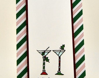 Martini Christmas Card