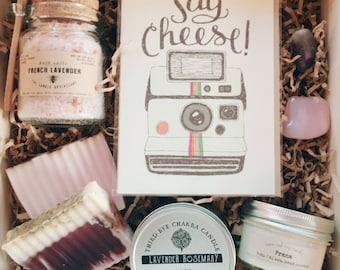 Lavender Birthday Gift Set