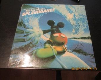 Disney vinyl Still Sealed - Splash Dance - Still Sealed Original Wow Super Rare - Vintage Record lp in Mint Condition.
