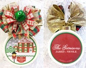 New Home Ornament First Home Christmas Ornament  Custom New Home  Christmas Ornament Family Christmas Ornament Custom Family Tree Ornament