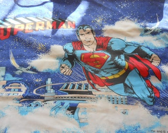 Vintage Pillowcase,  Superman, 1978, good condition