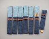 DPN holder, Crochet case, Needle case, pencil case, brush case, needle storage