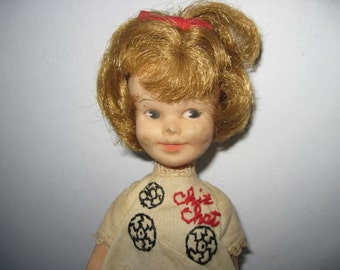 Vintage 1960s Chit Chat doll deluxe reading co