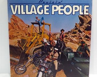 Village People Cruisin' Album Cover Purse Custom Made Vintage Record Purse LP Album Handbag Tote