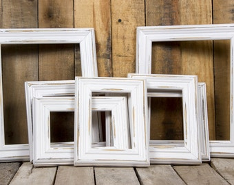 Picture Frame Set, Rustic Picture Frame Collage, Rustic Frame, Matched Frame Set, Distressed Frame, Brunswick Picture Frame-Gallery Wall Set