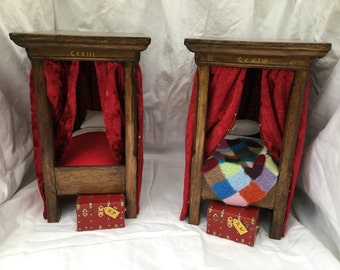 Dolls House Harry Potter beds - 1/12th or 1 inch - Harry  NEW 2017