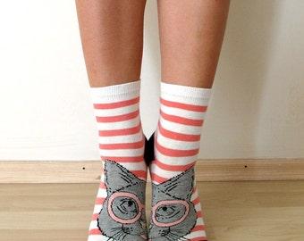 CAT Socks for Women,Women Socks,Boot Socks,Ankle Socks