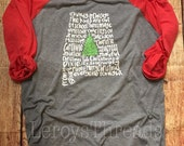 Christmas in Dixie Woman's Shirt