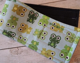 Dog Diaper Belly Band, Stops Marking, Froggy Fabric, Personalized, FAST Shipping