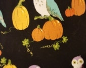 4 7/8 yards of Alexander Henry Owl cotton fabric
