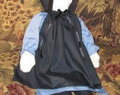 "Black Bonnet (only)for 17"" Doll"