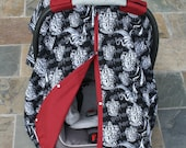 Harry Potter Hogwarts Gryffindor Car Seat Cover Car Seat Canopy - for the Muggle Moms - Baby Rides in Style by Mommy Moxie on Etsy