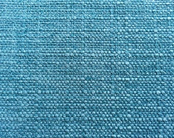 Decorative Teal Basketweave Pillow Cover / Both Sides / Squares / Lumbars and Euro Shams