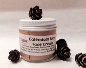 FACE CREAM - Calendula - Night or Day - Organic Ingredients - Handmade By Dirt Tribe