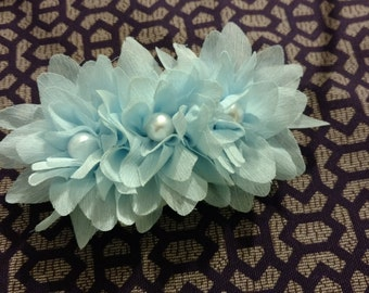 Emma headband light blue