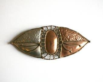 Copper Brass Oversized Eye Belt Buckley