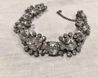 Eisenberg Original Crystal Rhinestone Bracelet