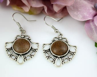 Free Shipping - Old Vine Grapevine Earrings - First Edition