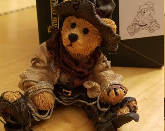 Boyds Bears Collectible Hop A Long the Deputy